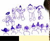 anniversaire,dessin,enfant,magicien 64,spectacle enfant 64,anniversaire enfant 64