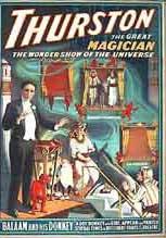 thurston,magicien,campings,spectacles,enfants,saroyan,mariages