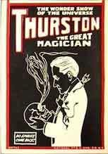 thurston,magicien,animation  camping,spectacles,enfants,saroyan