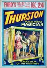 thurston,howard thurston,magicien,magie,spectacle magie,lemagicien.com